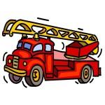 Fire truck visit