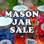 Mason Jar Sale