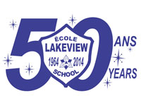 Lakeview 50th Anniversary logo