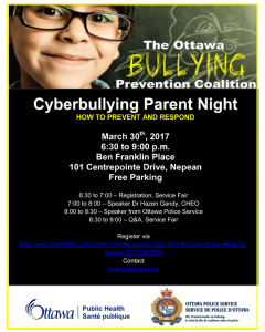 Cyberbylling Parent night