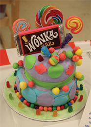 Willy Wonka cake from Mayfair 2017